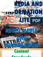 LESSON 14 Audio Media and Information