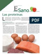 Vive sano - las proteinas