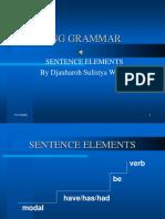 SENTENCE ELEMENTS-1.ppsx