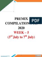 Weekly Premix Compilation 5