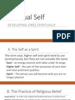 Spiritual Self