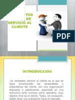 Conceptos básicos de Servicio al Cliente