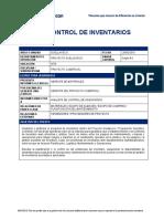 RP Líder de Control de Inventarios - Site-1