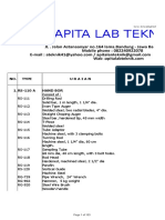 Daftar Harga Apita Lab Teknik. Tahun 2018