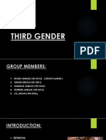 Third Genders Slides