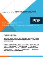 Tugas 1 Filsafat&Metode Penelitian Prof Suryani Yuniarty Antu