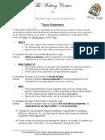 Handout - Thesis Statements.pdf