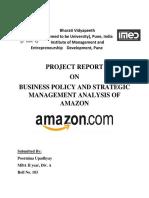 Strategic Mgt. Project 183-Amazon
