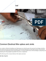 Common Electrical Wire Splices and Joints – Basics About Electrical