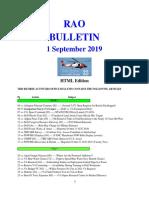 Bulletin 190901 (HTML Edition)