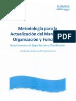 Metodología MOF