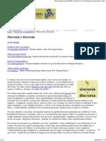 Sincronía y Diacronía - La Guía de Lengua