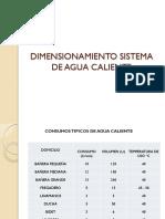 4 Dimensionamiento Sistema de Agua Caliente
