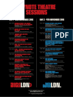 Big Data Ldn Seminar Schedule