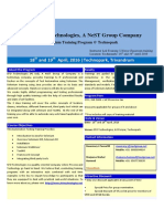 Selenium Training Brochure- Tvm -April-18