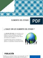 Elementos Del Estado Expo