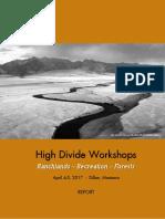 report-high-divide-workshop-april-4-5-2017