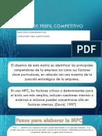 Matriz de Perfil Competitivo (1)