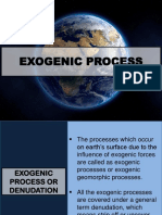 Exogenic Process