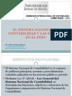 Sistemanacionaldecontabilidadynic-niif en Peru