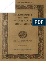 Charlotte Despard - Theosophy and the Woman's Movement - 1913 (Ing)