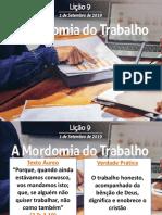 SLIDES DA LIO 09 - A MORDOMIA DO TRABALHO.pptx