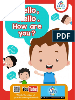 Hello Hello How Are You Song Flashcards  Activities