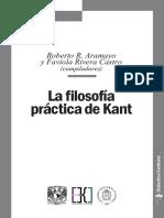 La Filosofia Practica de Kant