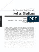 Hof vs Siedlung