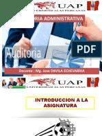 INTRODUCCION - AUDITORIA ADMINISTRATIVA