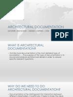 architectural documentation.pptx