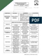 Rúbrica de Evaluación - Creación de Juego