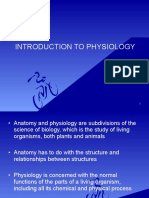 1. Physiology Introduction