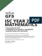 (Www.entrance Exam.net) ISC 2013 Mathematics Solved Paper