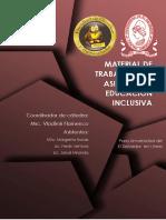 Material de Trabajo de La Asugnatura Educación Inclusiva