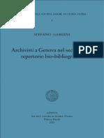 Arquivo de Genova Século XIX