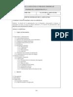 Temario Informática Administrativa I