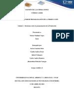 TAREA 2 - INFORME PROGRAMACIÓN DE LA PRODUCCIÓN