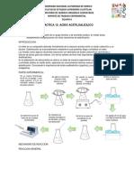 Reporte Pract 12 Acidoacetilsalicilico
