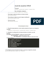 Manual de Usuario CRUD
