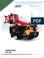 CAMIÓN GRÚA STC 750