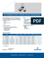 Product Data Sheet Cvs Hardwired Constant Voltage Transformers en Us 163816
