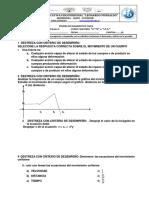Diagnostico de Fisica 2-3 Er Año