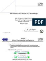 Adv in MEMs for RF Tech Anim