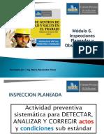2. Módulo 6. Las Inspecciones Planeadas (1)