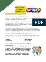 school - newslettersept2019