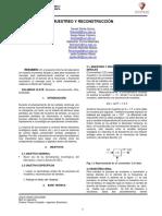 Informe Sampling and Reconstruction