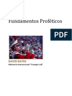 Prophetic Foundations (Spanish Version Booklet) - David Bates