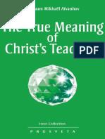 True meaning of Christ's Teachings