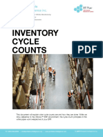 inventory cycle count